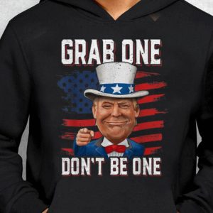 Nice Trend American Flag Grab One Don't Be One Uncle Trump American 4th Of July shirt
