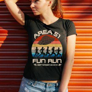 Original Area 51 Fun Run September 20 20149 Vintage UFO shirt 2