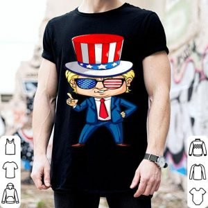 President Trump With Usa Hat Trump 2020 4Th Of July shirt