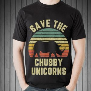 Save The Chubby Unicorn Vintage sweater