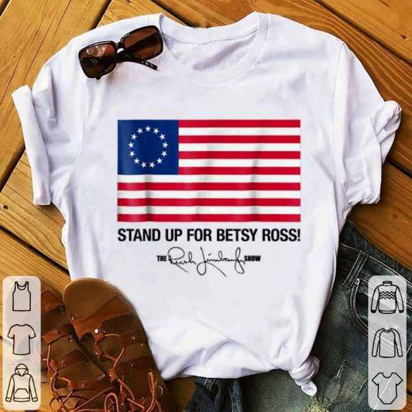 Stand Up For Betsy Ross Flag The Rush Limbaugh Show Signature Youth tee