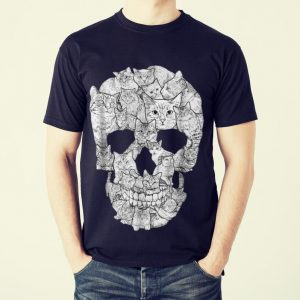 The Best Cat Skull Skeleton Halloween Costume Idea shirt