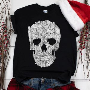 The Best Cat Skull Skeleton Halloween Costume Idea shirt 1