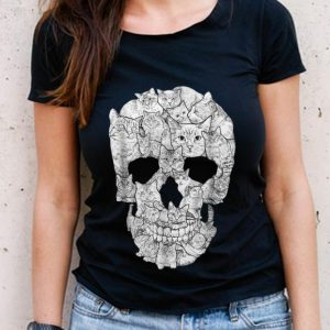 The Best Cat Skull Skeleton Halloween Costume Idea shirt 2