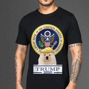The best trend My Chow Chow Trump Hair Great Seal Of The United States shirt