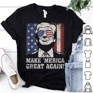 Trump Great 'Merica 4Th Of July Us Flag Vintage American shirt