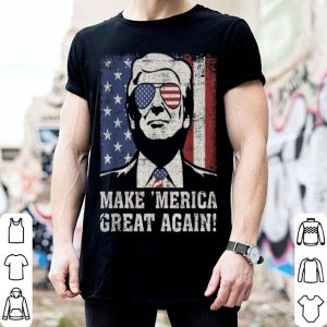Trump Great 'Merica 4Th Of July Us Flag Vintage American shirt