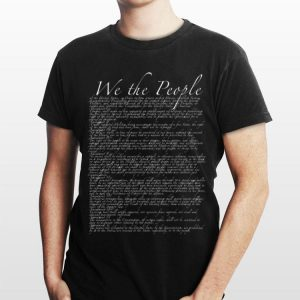 United States Bill Of Rights Us Constitution shirt