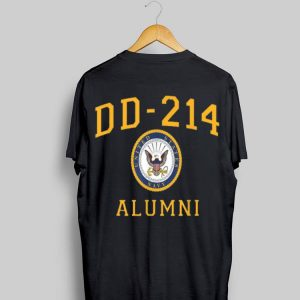 Us Navy Dad Dd214 Alumni For A Retired Hero shirt