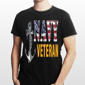 Us Navy Veteran American Flag Cool shirt
