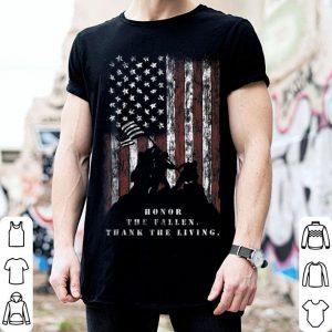 Veteran Honor The Fallen Thank The Living Usa Flag shirt