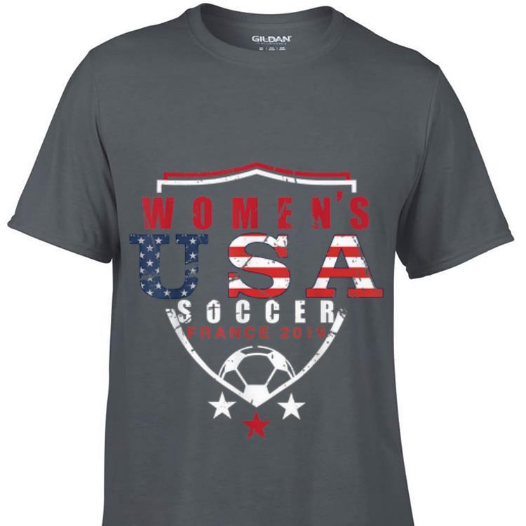 Women s Usa Soccer France World Cup 2019 sweater 1 - Women's Usa Soccer France World Cup 2019 sweater