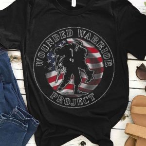 Wounded Warrior Project American Flag guy tee