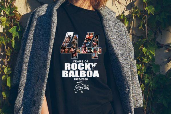 44 Years Of Rocky Balboa 1976-2020 signature sweater
