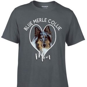 Awesome Blue Merle Collie Mom shirt