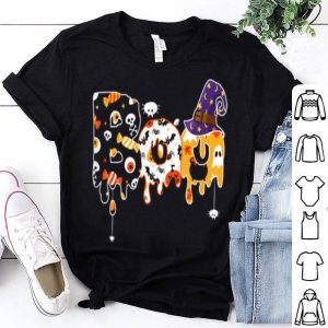 Awesome Boo Halloween Spiders And Witch Hat Gift shirt