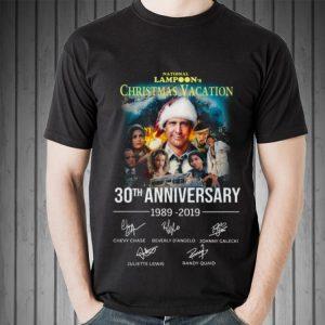 Awesome Christmas Vacation 30th Anniversary 1989 2019 Signature shirt 1