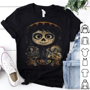 Awesome Disney Pixar Coco Miguel & Musical Scene Graphic shirt