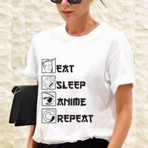 Awesome Eat Sleep Anime Repeat shirt 2