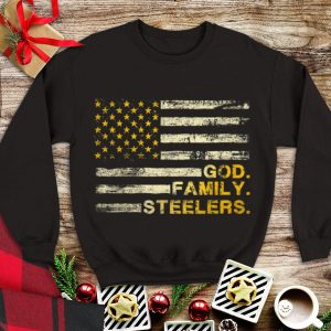 Awesome God Family Steelers Pro American Flag shirt
