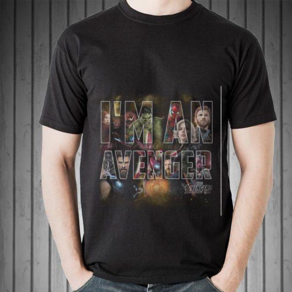 Awesome Marvel Avengers Infinity War I Am An Avenger shirt
