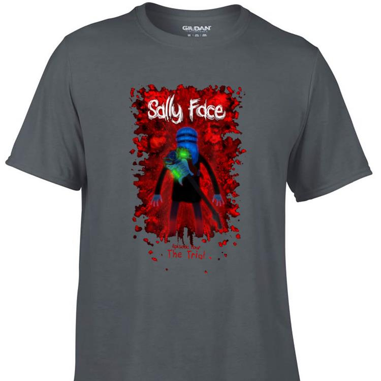 Awesome Sally Face Sanity s Fall Larry The Trial shirt 1 - Awesome Sally Face Sanity's Fall Larry The Trial shirt
