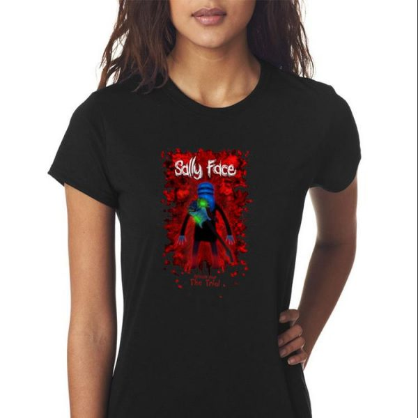 Awesome Sally Face Sanity's Fall Larry The Trial shirt