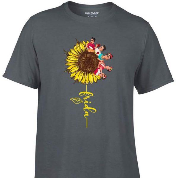 Awesome Sunflower Frida Kahlo shirt