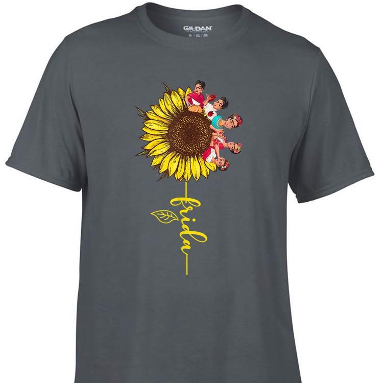 Awesome Sunflower Frida Kahlo shirt 1 - Awesome Sunflower Frida Kahlo shirt