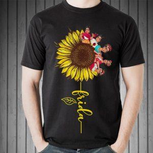 Awesome Sunflower Frida Kahlo shirt 1