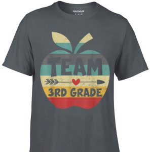 Awesome Team 3rd Grade Back To Shool Vintage shirt