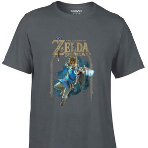 Awesome The Legend Of Zelda Breath Of The Wild shirt