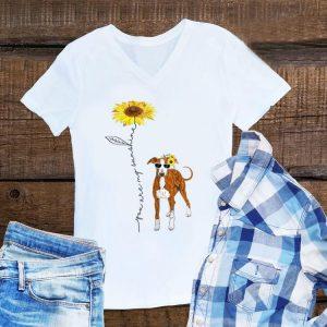 Awesome You Are My Sunshine Italian Greyhound Sunflower shirt