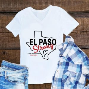 El paso strong texas shoothing august map sweater