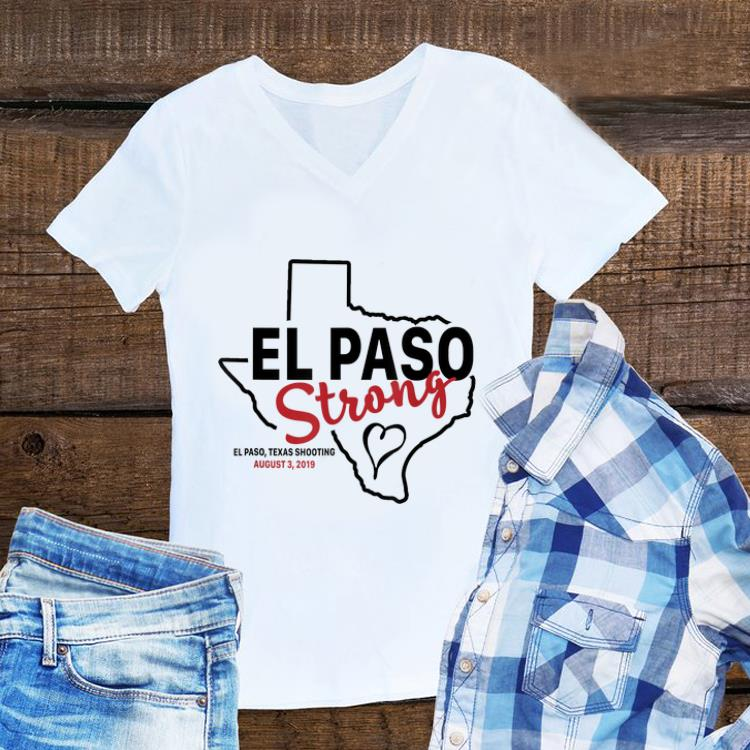 El paso strong texas shoothing august map sweater 1 - El paso strong texas shoothing august map sweater