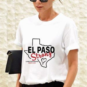El paso strong texas shoothing august map sweater 2