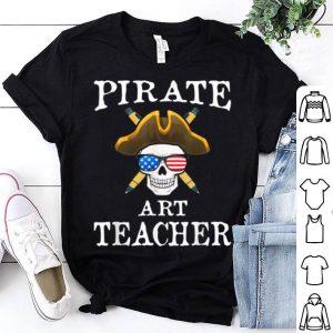 Funny Art Teacher Halloween Party Costume Gift shirt