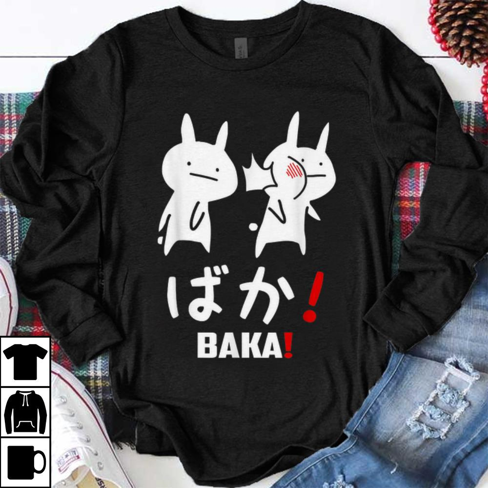 Funny Kawaii Neko Baka Japanese Word shirt 1 - Funny Kawaii Neko Baka Japanese Word shirt