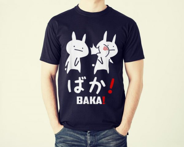 Funny Kawaii Neko Baka Japanese Word shirt