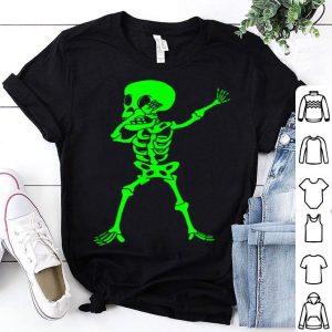 Funny Skeleton Funny Halloween Heart Dab Kids Adults shirt