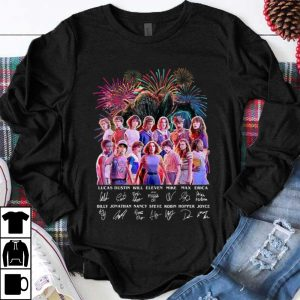 Funny Thank You For The Memories Stranger Things Firework Signature shirt