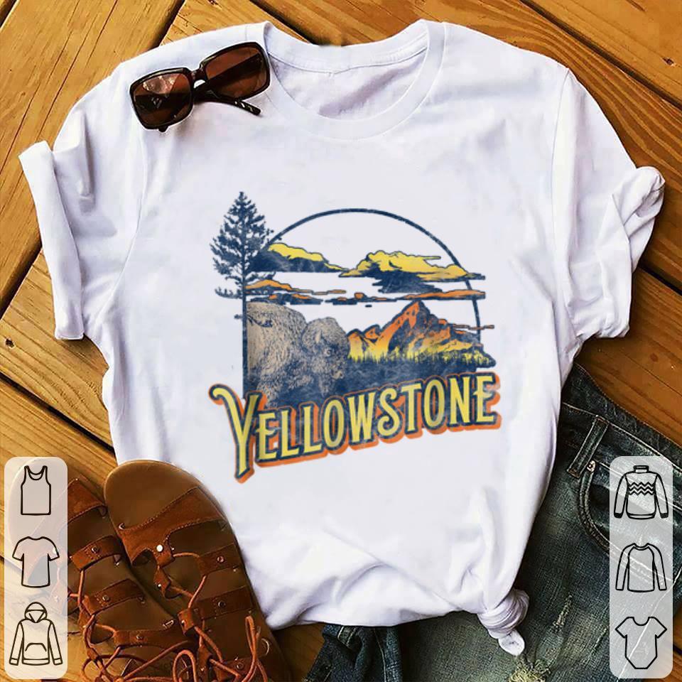 Funny Vintage Yellowstone National Park Retro shirt 1 - Funny Vintage Yellowstone National Park Retro shirt