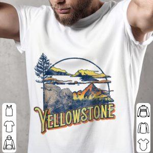 Funny Vintage Yellowstone National Park Retro shirt 1