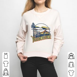 Funny Vintage Yellowstone National Park Retro shirt 2