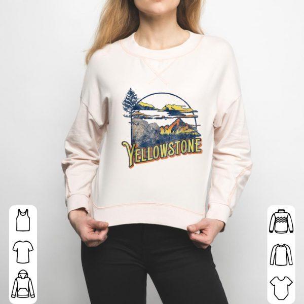 Funny Vintage Yellowstone National Park Retro shirt
