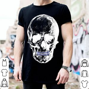 Hot Creepy Skull With Braces Cool Halloween shirt