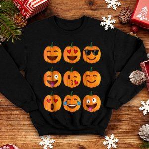 Hot Pumpkin Emoji, Pumpkin Emoji Halloween Costume shirt