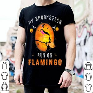 Nice Flamingo Witch Halloween Costume shirt