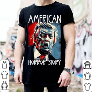 Nice Funny Halloween Anti Trump Horror Story Americas Hated Dude shirt