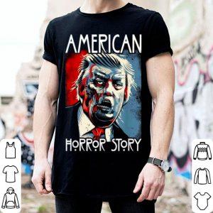 Nice Funny Halloween Anti Trump Horror Story Americas Hated Dude shirt